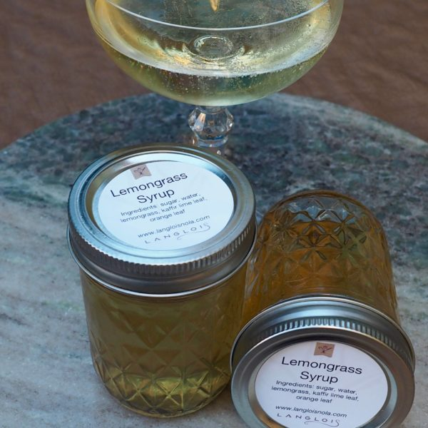 Lemongrass Syrup- 12oz