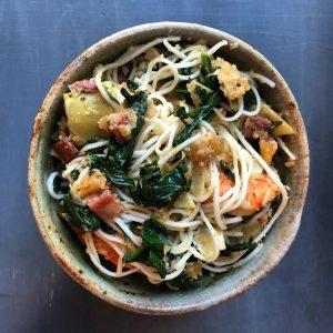 Langlois Creole Shrimp and Artichoke Pasta