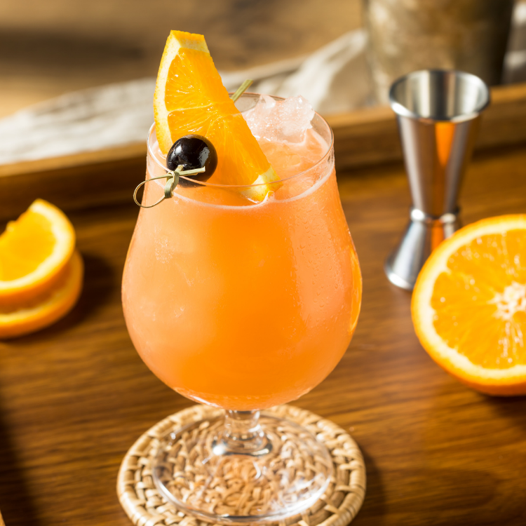 New Orleans Hurricane cocktail