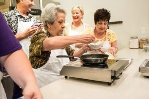 hands on cooking class Creole New Orleans food